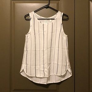 Size S striped Pink Blush sleeveless top